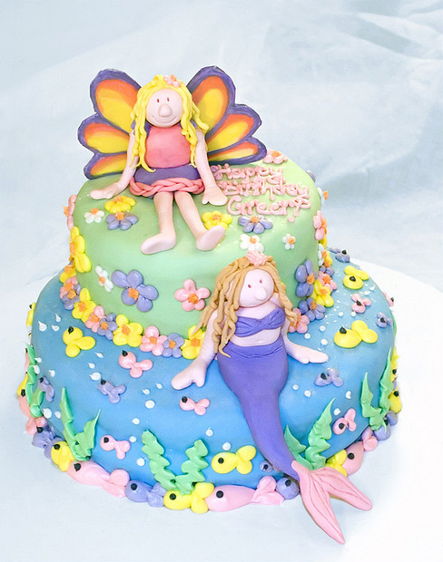 Faerie-and-Mermaid-Cake